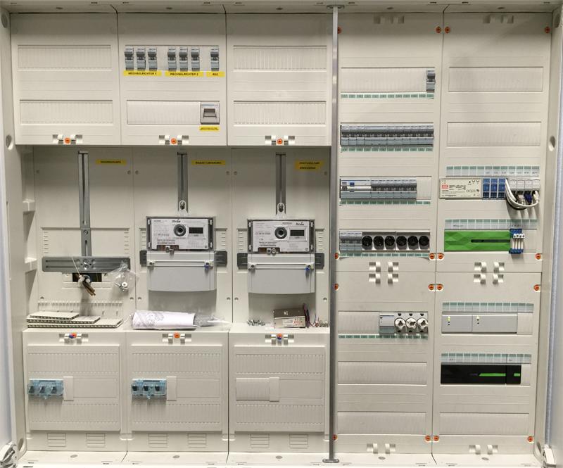 Internethändler - Lager mit Büro - komplett automatisiert mit Loxone