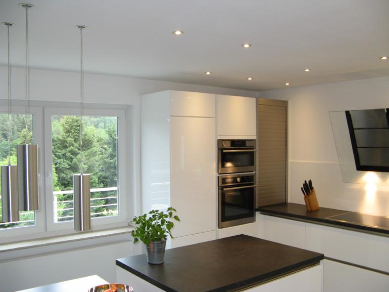 umbau - modernisierung küche und eingangsbereich - privates wohnhaus - Led Einbauleuchten Küche
