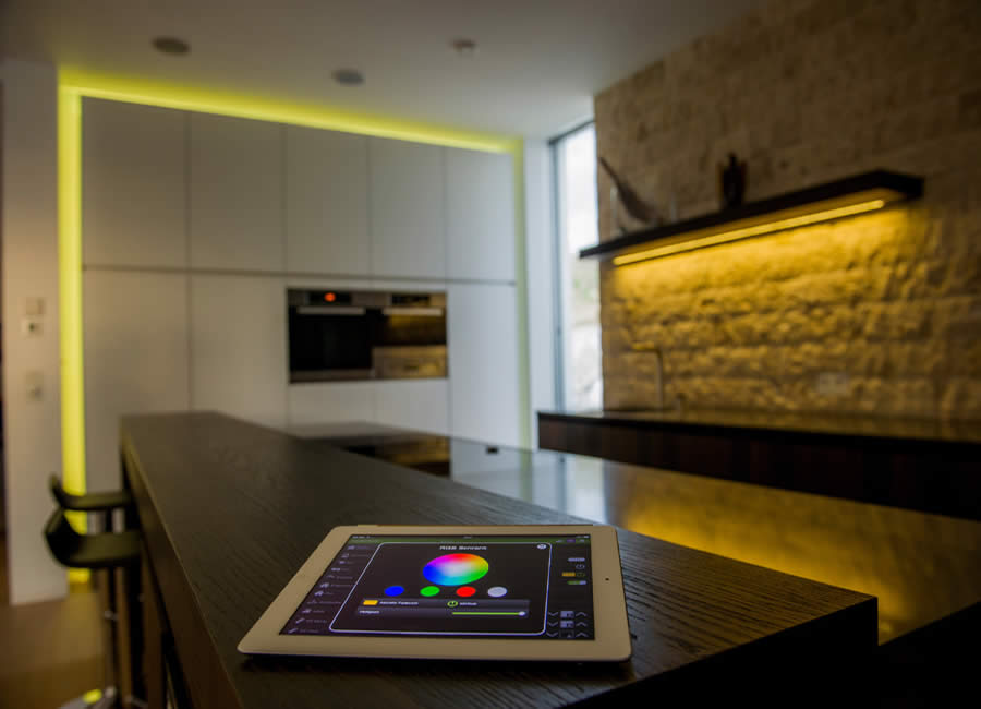 Das Licht im Loxone Smart Home